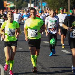 SEB Tallinna Maraton - Arno Sibul (550), Tõnu Kuhi (678), Katre Kalk (748), Mirjo Koit (2020)