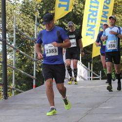 SEB Tallinna Maraton - Heiki Talvik (936), Armin Tänav (1383)