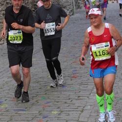 SEB Tallinna Maraton - Aare Jõumees (1073), Dmitry Smurov (1163), Teet Soomre (1553)