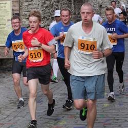 SEB Tallinna Maraton - Pavel Uibukant (510), Mihkel Läänelaid (522), Andre Truuts (910)