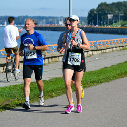 SEB Tallinna Maraton - Annika Lindholm (1708), Harri Altroff (1956)