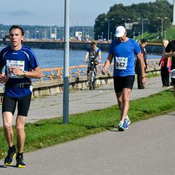 SEB Tallinna Maraton - Petteri Kuusisto (447), Aarne Vasarik (616)