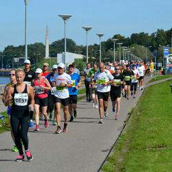SEB Tallinna Maraton - Rein Tiisvelt (199), Ann-Mari Bergström (1482)
