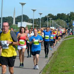 SEB Tallinna Maraton - Daria Shmyr (1612), Charles Hollowell (2734)