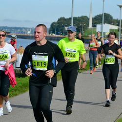 SEB Tallinna Maraton - Angelika Asper (1166), Andrus Voolaine (1723), Erkko Piirimägi (1819), Ilona Kalliola (2753)