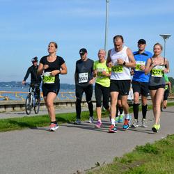 SEB Tallinna Maraton - Kitty Mamers (1305), Maxim Voznyy (1534), Teet Soomre (1553), Alyona Skopina (2320)