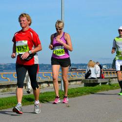 SEB Tallinna Maraton - Anu Pitkänen (1669), Anni Bech (2757)