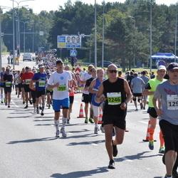 SEB Tallinna Maraton - Artur Praun (759), Pasi Vehmasaho (1295), Germo Saar (2246), Kaupo Koplus (2265)