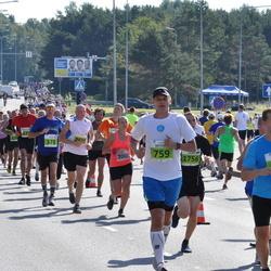 SEB Tallinna Maraton - Mikael Kolehmainen (679), Artur Praun (759), Maik Tukk (2619)
