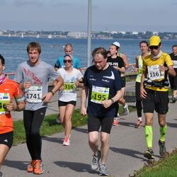 SEB Tallinna Maraton - Esa Härkönen (195), Heiki Rebane (1161), Elli Marie Tragel (1316), Annika Loomus (1446), Magnus Heinmets (1741)