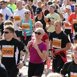 SEB Tallinna Maraton - Merle Jõekeerd (2027), Artjom Arno (2085), Silver Vincent Sutt (2370)