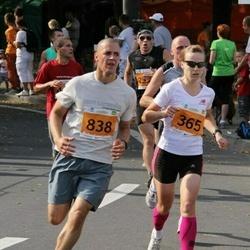 SEB Tallinna Maraton - Ülle Luiks (365), Aavo Olgo (838)