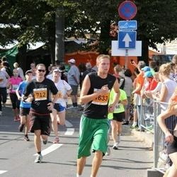 SEB Tallinna Maraton - Andre Põlm (712), Karol Pärn (1633)