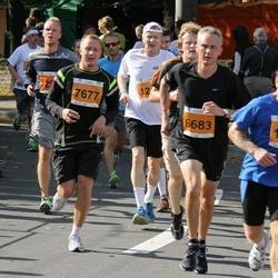 SEB Tallinna Maraton - Arne Pihkva (1676), Clive Smith (6683), Rain Krusta (7677)