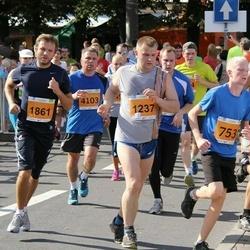 SEB Tallinna Maraton - Raul Paju (753), Lauri Pihlak (1237), Dainis Lasmanis (1861), Boris Matsuev (4103), Kristjan Tammearu (6241)