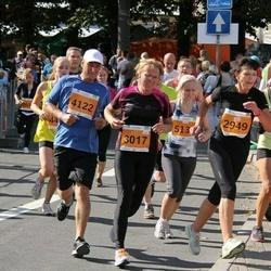 SEB Tallinna Maraton - Ülli Krilovs (2949), Imbi Kukk (3017), Toomas Kägi (4122), Artur Sepp (5023)