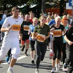 SEB Tallinna Maraton - Taavi Eller (2226), Tambet Tamm (2331), Meriliis Kivila (5298), Aleksei Kapustin (5907)