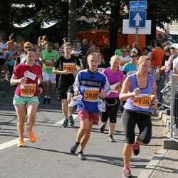 SEB Tallinna Maraton - Madis Klee (3076), Sandra Uustal (6034), Aet Urvast (6136)