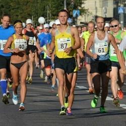 SEB Tallinna Maraton - Anastasia Kushnirenko (40), Indrek Lillemägi (45), Lauri Lelumees (61), Deniss Košelev (87)