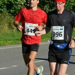 SEB Tallinna Maraton - Artis Visendorfs (449), Pekka Myllylä (996)