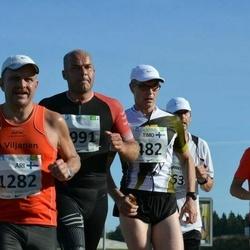 SEB Tallinna Maraton - Timo Marttinen (482), Ari Viljanen (1282)
