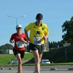 SEB Tallinna Maraton - Jeremy Haslett (1332), Annika Lundström-Nygård (1607)