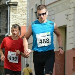 SEB Tallinna Maraton - Artis Visendorfs (449), Kaido Marjak (488)
