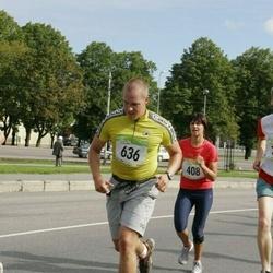 8. SEB Tallinna Sügisjooks - Armi Tähema (408), Risto Bogdanov (636)