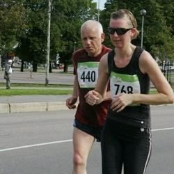 8. SEB Tallinna Sügisjooks - Mihkel-Kalju Tammeveski (440), Anna Valve (768)