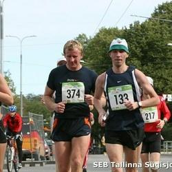 8. SEB Tallinna Sügisjooks - Arndt Vehlmann (133), Evelin Kärner (172), Ivar Vilson (374)