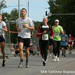 8. SEB Tallinna Sügisjooks - Risto Agu (234), Jaanika Eisan (294), Ago Albert (527)