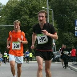 8. SEB Tallinna Sügisjooks - Andre Anis (260), Jüri Raatma (690)