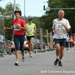 8. SEB Tallinna Sügisjooks - Urmas Uska (312), Armi Tähema (408), Mati Põldver (676)