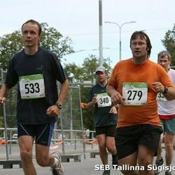 8. SEB Tallinna Sügisjooks - Martin Pärn (279), Agur Jõgi (340), Ants Mailend (533)