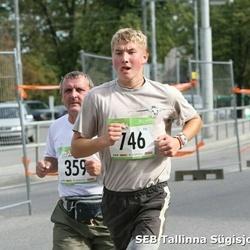 8. SEB Tallinna Sügisjooks - Artur Jürimäe (359), Siim Õunloo (746)