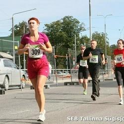 8. SEB Tallinna Sügisjooks - Merje Meerits (309), Anneli Sander (465), Valeri Opermann (625)