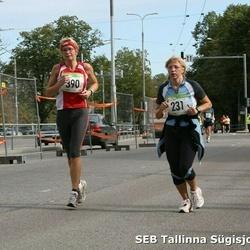 8. SEB Tallinna Sügisjooks - Age Roosipuu (231), Anu Krimm (390)