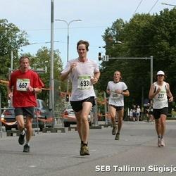 8. SEB Tallinna Sügisjooks - Villy Lopman (633), Ago Kokk (667)