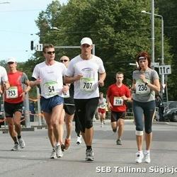 8. SEB Tallinna Sügisjooks - Erik Aibast (54), Maris Jaama (236), Asko Kuusalu (426), Janis Paju (707), Aare Tuvike (753)