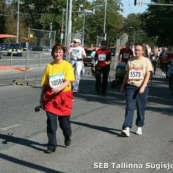 8. SEB Tallinna Sügisjooks - Anneli Talbak (5573), Kaie Palta (10584)