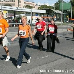 8. SEB Tallinna Sügisjooks - Anna Boldõševa (4628), Mareena Karu (5654), Erle Ehanurm (5656), Liina Koit (6251), Krista Sallaste (6253)