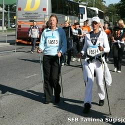 8. SEB Tallinna Sügisjooks - Anri Mulin (5282), Ene Preemel (7159), Mathias Luik (7496), Annika Veimer (10513), Terje Mei (10514), Ehta Murakas (10522)
