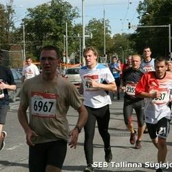 8. SEB Tallinna Sügisjooks - Ats Kübarsepp (2355), Kadri Gröön (3553), Raido Kukk (6967), Aleksei Ignatenko (8303)