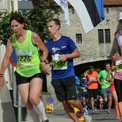 SEB Tallinna Maraton - Ludmila Joce (2226), Alexander Gulyaev (2482)