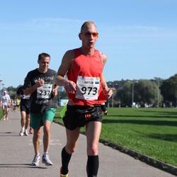 SEB Tallinna Maraton - Tuure Eskelinen (237), Artur Rauhiainen (973)