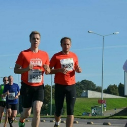 SEB Tallinna Maraton - Arttu Sadeharju (1602), Jukka Sadeharju (1604), Argo Undla (1887)