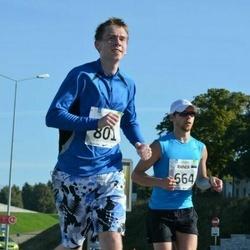 SEB Tallinna Maraton - Rainer Lepik (664), Aare Tuulik (801)