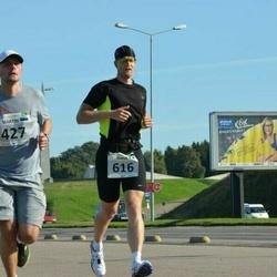 SEB Tallinna Maraton - Martin Murre (427), Aarne Vasarik (616)
