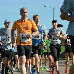 SEB Tallinna Maraton - Madis Salus (540), Martin Herem (874), Bret Schär (889), Siim Peetrimägi (1198), Siiri Leskov (1300)