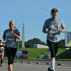 SEB Tallinna Maraton - Britt Pellä (1096), Tarvi Tameri (1665)